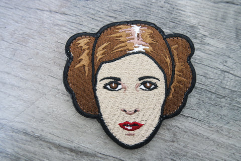 Carrie Fisher  Limited / GITD Patch ( Velcro backed )