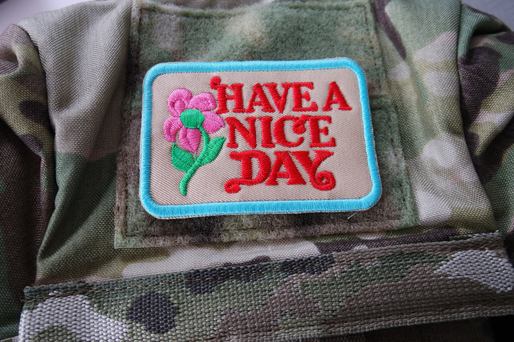 HAVE A NICE DAY PATCH ( LIMITED )