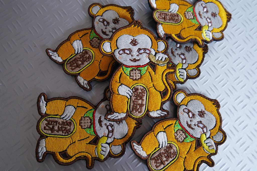 Chinese New Year Monkey's ANG BAO & PATCHES DESIGN by Eatcidpeecid