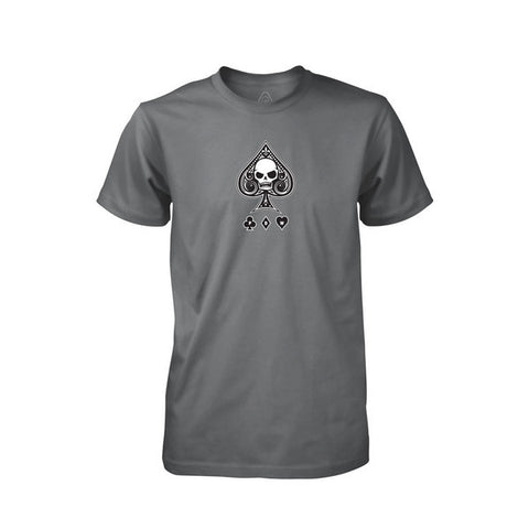 PDW Ace Of Spades V1 T-Shirt - Asphalt