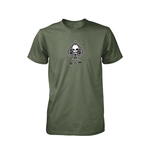 PDW Ace Of Spades V1 T-Shirt - Lieutenant