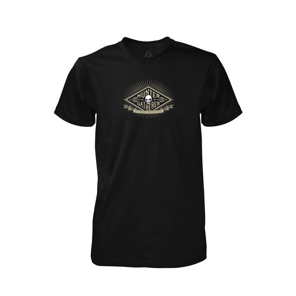 PDW Hunter Gatherer V1 T-Shirt - Black