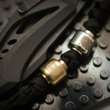 SW LG  SLIVER / BLACK COATED BRASS BEADS BY LSM CUSTOM ( Head Fit minifigure ) LIMITED EDITION