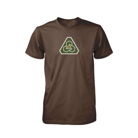 PDW Logo V1 T-Shirt - Brown