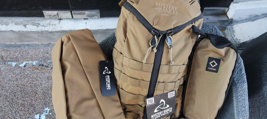 Mystery Ranch products are built tough for urban or field use.