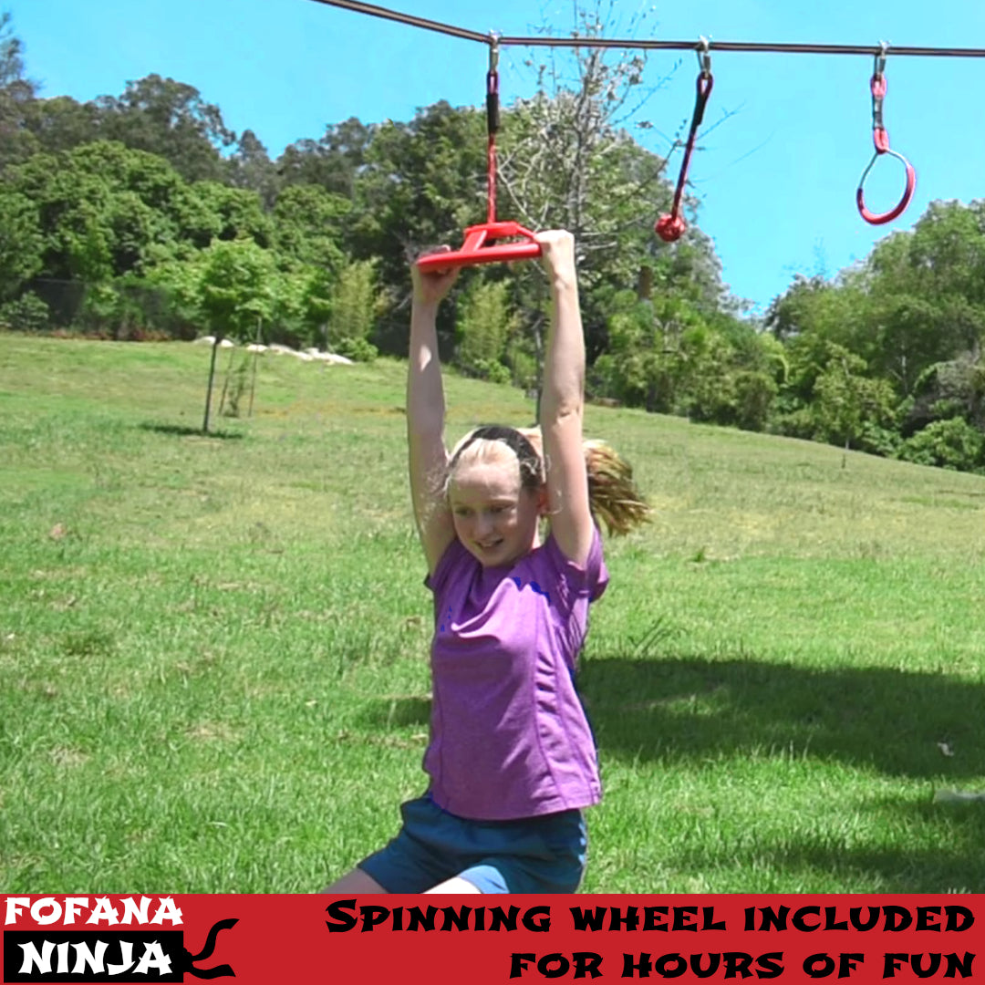 Ninja Warrior Slackline Obstacle Course