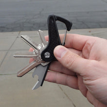 Weave Got Keys - Carbon Fiber Key Holder