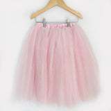 Full Length Tulle Skirts - Light Pink, Cream, Black