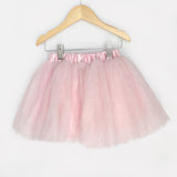 Knee Length Tulle Skirts - Light Pink, Cream, Black