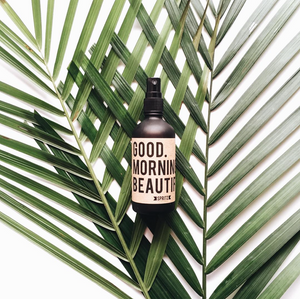 Happy Spritz Good Morning Beautiful - Energizing + Uplifting Citrus Essential Oil Facial Spray