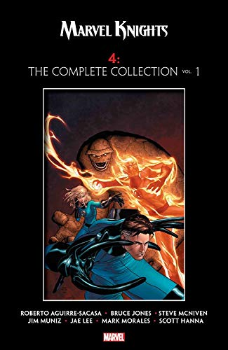 MARVEL KNIGHTS - FANTASTIC FOUR COMPLETE COLLECTION VOL 1 TPB