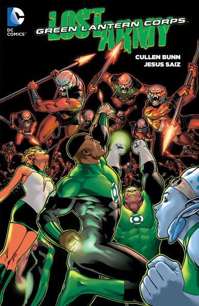 Green Lantern Corps - The Lost Army Tpb