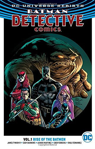 Batman - Detective Vol 01 : Rise of the Batmen (Rebirth) Tpb