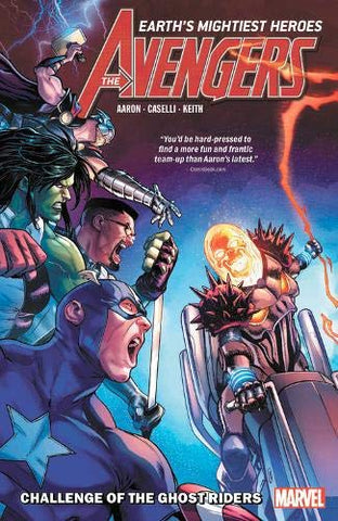 AVENGERS BY JASON AARON VOL 05 - CHALLENGE OF GHOST RIDERS TPB
