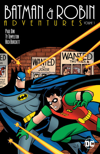 Batman & Robin Adventures Vol 1 Tpb