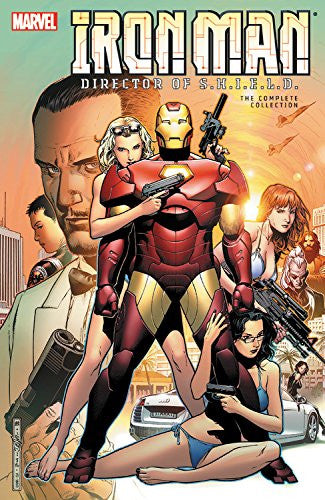 IRON MAN - DIRECTOR OF SHIELD COMPLETE COLLECTION TPB