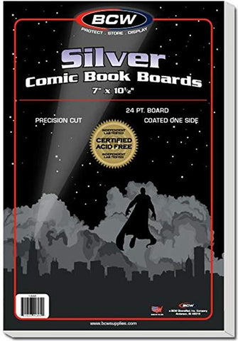 BCW Silver Age Comic Backing Boards