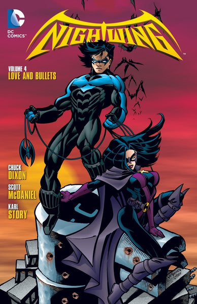 Nightwing Vol 4 : Love & Bullets Tpb