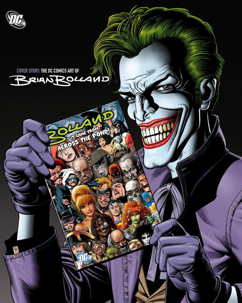 Cover Story : The DC Comics Art of Brian Bolland HC