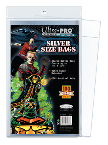 ULTRA PRO - Bags Silver Size
