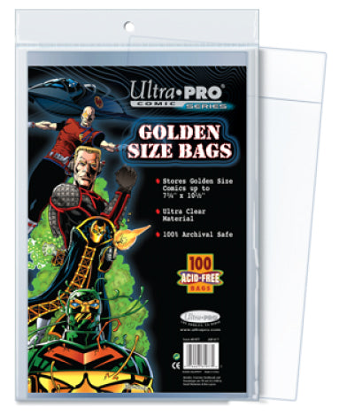 ULTRA PRO - Golden Size Bags