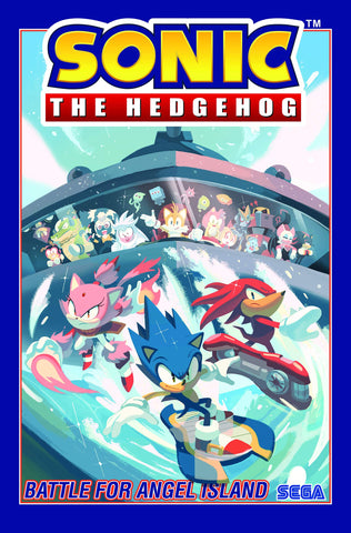 SONIC THE HEDGEHOG VOL 03 - BATTLE FOR ANGEL ISLAND TPB