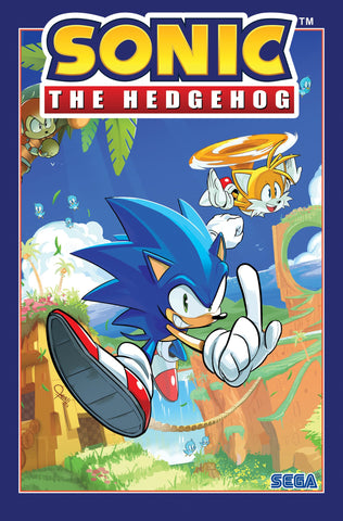 SONIC THE HEDGEHOG VOL 01 - FALLOUT TPB