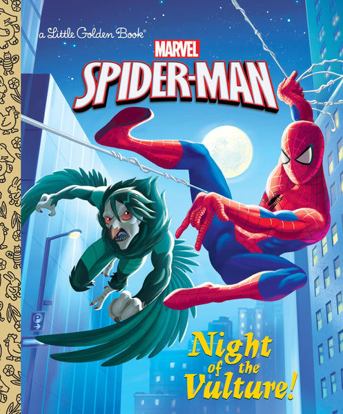 The Amazing Spider-Man - Night of the Vulture - Little Golden Book