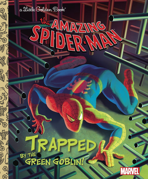 The Amazing Spider-Man - Trapped by the Green Goblin! - Little Golden Book