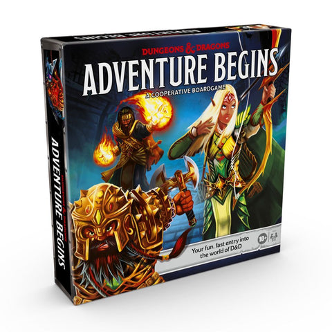 D&D Adventure Begins - Cooperative Fantasy Board Game