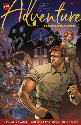 Adventure Illustrated #1 Cover C