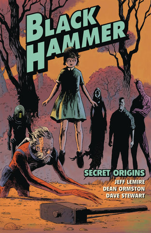 BLACK HAMMER VOL 01 - SECRET ORIGINS TPB