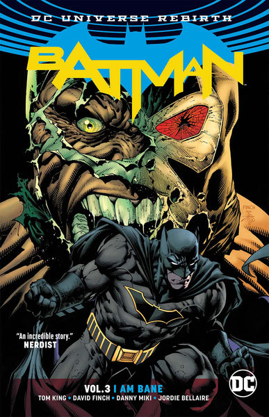 Batman Vol 03 : I Am Bane (Rebirth) Tpb