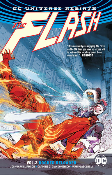 Flash Vol 03 : Rogues Reloaded (Rebirth) Tpb