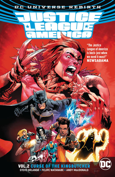 Justice League of America Vol 02 : KingButcher (Rebirth) Tpb