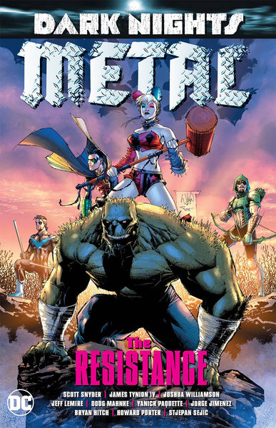 DARK NIGHTS METAL - THE RESISTANCE TPB