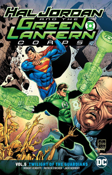 Hal Jordan & Green Lantern Corps Vol 05 - Twilight of the Guardians (Rebirth) Tpb