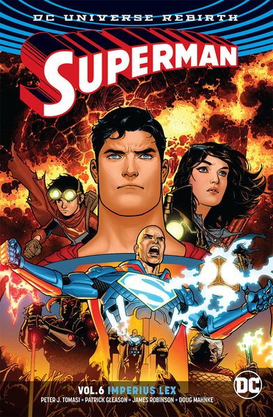 Superman Vol 06 : Imperius Lex (Rebirth) Tpb