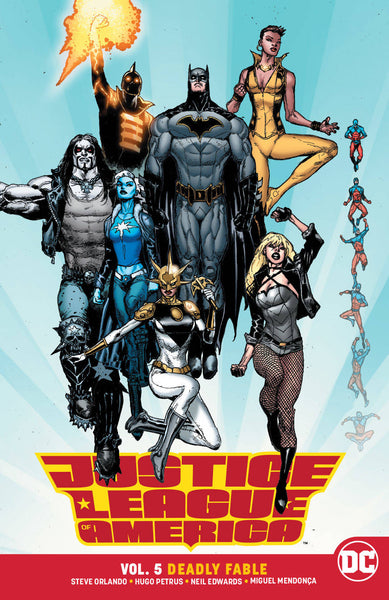 Justice League of America Vol 05 : Deadly Fable (Rebirth) Tpb