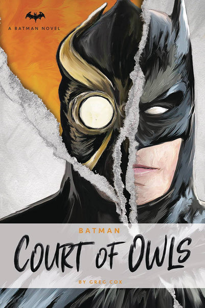 DC COMICS NOVELS - BATMAN COURT OF OWLS NOVEL HC