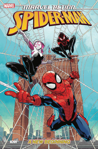 MARVEL ACTION - SPIDER-MAN BOOK 01 - NEW BEGINNING TPB