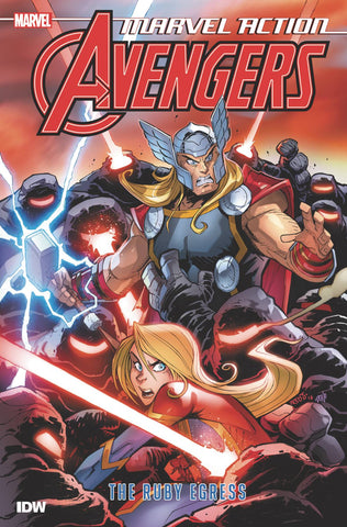 MARVEL ACTION - AVENGERS BOOK 02 - RUBY EGRESS TPB