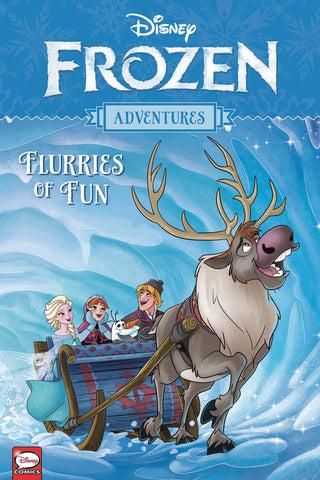 Disney Frozen Adventures - Flurries of Fun Tpb