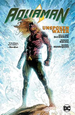AQUAMAN VOL 01 - UNSPOKEN WATER TPB
