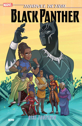 MARVEL ACTION - BLACK PANTHER - RISE TOGETHER TPB