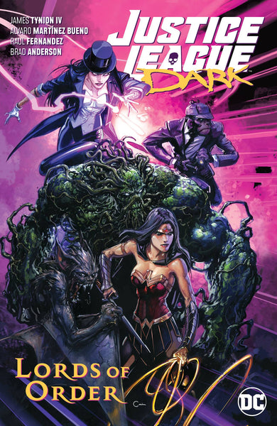 JUSTICE LEAGUE DARK VOL 2 - LORDS OF ORDER TPB