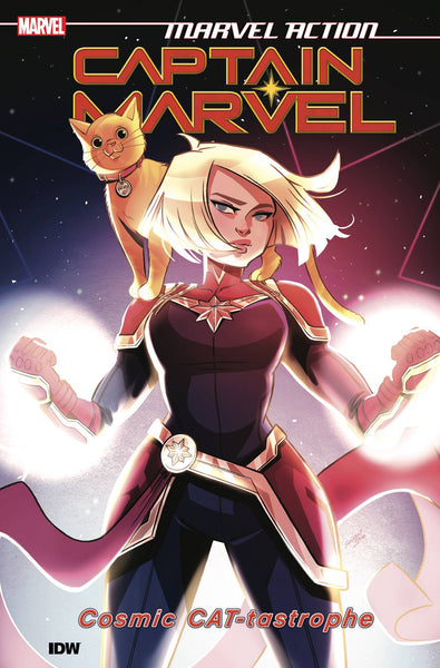 MARVEL ACTION - CAPTAIN MARVEL BOOK 01 - CAT-TASTROPHE TPB