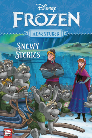 Disney Frozen Adventures - Snowy Stories Tpb