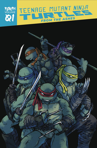 TMNT REBORN VOL 01 - FROM THE ASHES TPB