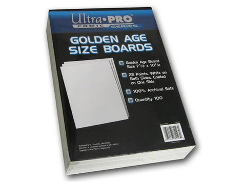 ULTRA PRO - Backing Boards Golden